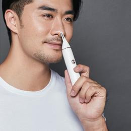 Tagliare i capelli del naso online-XIAOMI Mijia SOOCAS Skin Scratching Naso Trimmer All Trimmer per uomo Orecchie Portable Nose Hair Clipper elettrico