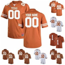 Wholesale Custom Homem Texas Longhorns Jerseys Sugar Bowl Earl Thomas III Tre Watson Devin Duvernay Colin Johnson Sam Ehlinger Keaontay Ingram Humphrey
