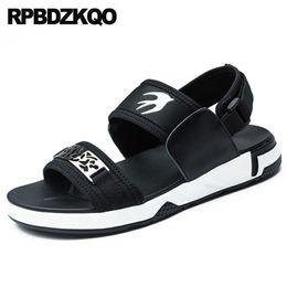 62ee47d4568f5f Men Famous Brand Sport Black Flat Sneakers Beach Mesh Platform Japanese  Shoes Casual Designer Mens Sandals 2018 Summer Outdoor