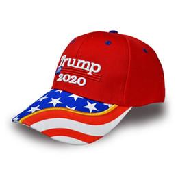 bonés de baseball por atacado eua Desconto NOVO Donald Trump 2020 Cap Camuflagem EUA Bandeira Bonés de Beisebol Manter América Grande Novamente Snapback Presidente Chapéu Bordado Atacado