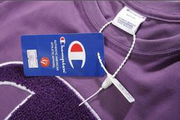 C полотенца онлайн-2019 Летний бренд с анти-контрафактной продукцией 2019ss новое Champ BB Big C полотенце вышитая футболка с короткими рукавами с коротким рукавом майки Kanye West Tops