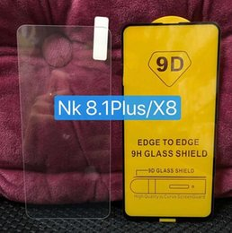 Canada 5D 6D 9D Film de protection d'écran en verre trempé à pleine couche pour Nokia X8 8.1 Plus 9 7.1 5.1 6.1 2.1 3.1 Plus X6 X5 X7 X3 Garde Offre