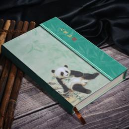 caderno panda Desconto Panda Notebook bonito Cenário Couro Panda Agenda dos desenhos animados Travel Journal Weekly Planner Organizer Diário Plano de Livro 2019 A6