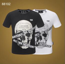 camisetas delgadas para hombres Rebajas Bordado Apliques Angry Cat T-shirt Hombres Algodón elástico Adelgazan Estilo Fit Camiseta Top Moda Hombre Camisetas color sólido M-3XL JG4096