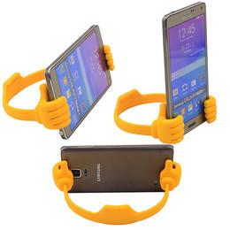 escritorio flexible Rebajas Universal Lazy Tablets Soporte para teléfono Teléfono móvil flexible Escritorio de escritorio Soporte de montaje en mesa Soporte para pulgar portátil