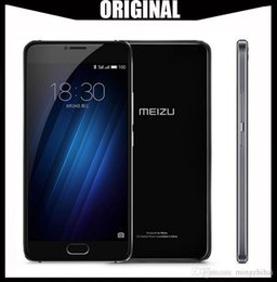 2019 mtk telefono cellulare sim Originale Meizu U20 2G 16 / 32G telefono cellulare MTK Helio P10 Octa Core cellulare Fingerprint ID 1920x1080p 5.5