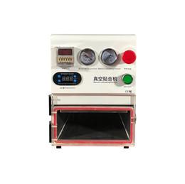 Máquina de laminação oca on-line-TBK máquina de estratificação do vácuo da máquina 108P da laminação de OCA de 14 polegadas para a gordura curvada em linha reta e as telas do LCD da tabuleta