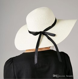 2019 YENI MODA Kadınlar Gelin Yaz Güneş Şapka Nedime Takımı Plaj Şapka lady kızlar için hediyeler için rahat basit summersunhat sıcak Boyutu 56-58 cm nereden
