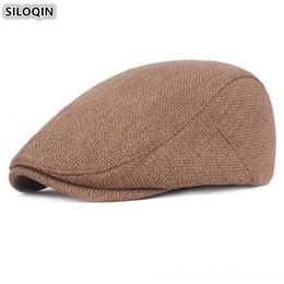 SILOQIN multicolor boinas retro sombrero ajustable Tamaño delgadas Caps lengüeta de color sólido de las mujeres adultos para las mujeres del verano de la primavera de camionero desde fabricantes