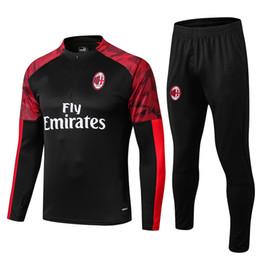 Команда milan онлайн-2019 -2020 гг. AC Milan комплект спортивной куртки для спортивного костюма 19-20.