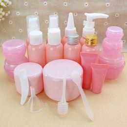 Argentina Botella cosmética de viaje botella de aerosol rosa presión boca pico crema máscara caja lavar botellas supplier mouth mask pink Suministro