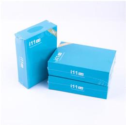 2019 хинди mp3 видео TWS i11 Беспроводные Bluetooth-наушники Наушники с поддержкой всплывающее окно Мини-наушники Twins для iPhone X IOS Android i11 5.0 touch blue box