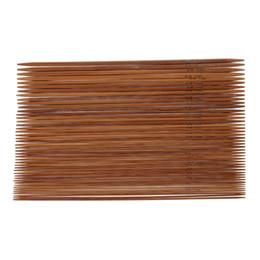 11 aiguilles de tricot en bambou carbonisé de différentes tailles, ensemble à double pointe ? partir de fabricateur
