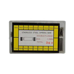 Reloj de pulsera de pc online-360 piezas del reloj banda de la muñeca barras de resorte Correas de enlace pasadores 21 mm 22 mm 23 mm 24 mm 25 mm