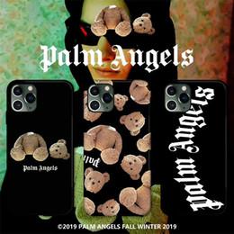 casse del telefono per orso di iphone Sconti smerigliato One di lusso della cassa del telefono morbida IMD Per la copertura dell'orso Designer telefono fondello fashion doll iPhone 7 8P XR 11PROMAX