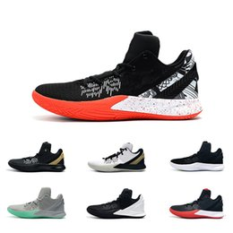 kyrie en plein air Promotion Vieux siècle chaussures de basket-ball Irvings 2 pour vente pas cher Sneakers Sports Kyrie Mens chaussure rouge plein air formateurs chaussures de basket-ball