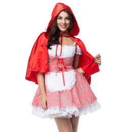 8ecde0039 alloween costumes for women UTMEON Sexy Cosplay Little Red Riding Hood Fantasy  Uniforms Halloween Costumes For Women Fancy Dress Plus siz.