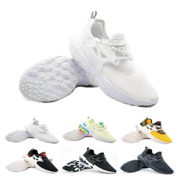 shoes flat feet men Promo Codes - Quality Presto Mid Epic React Men Women Running Shoes Comfortable Foot Feel Mesh Breathable Sneakers Black White Casual Shoes