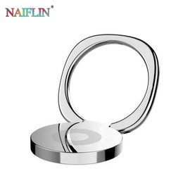 free tablets Promo Codes - New Luxury 360 Degree Metal Finger Ring Holder Smartphone Mobile Phone Finger Stand Holder For iPhone 7 6 Tablet with free DHL.