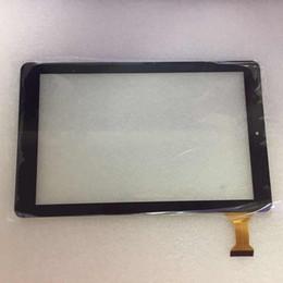Китай дигитайзер экранного экрана онлайн-Китай сделал черный 10,1-дюймовый сенсорный экран панели планшета WJ1697-FPC-V1.0 с самоклеящимся клеем NEW