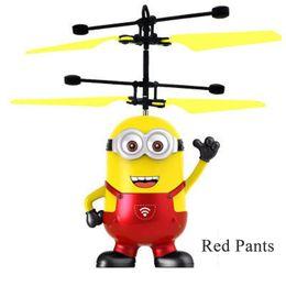 RC helicóptero Drone crianças brinquedos sensor de bola Aircraft Led Flashing Light Up Toy indução elétrica que voa para Crianças de Fornecedores de óculos de qualidade