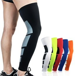 5d5a0c71fb 1PCS Super Elastic Lycra Basketball Leg Warmers Calf Thigh Compression  Sleeves Knee Brace Soccer Volleyball Cycling Calf Support #220364