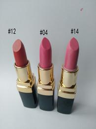 Üç renk Marka dudak rengi Krem Renkler Makyaj Ruj 3.5g nereden toptan marka markası tedarikçiler