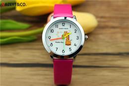 смотреть пояс девушка новый Скидка 2019 Новые дети PU ремень наручные часы в детский мультфильм милый жираф мальчики и девочки кварцевые часы малыш