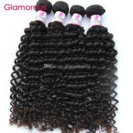 sehr indisches haar Rabatt Glamorous Echthaar Großhandel Brasilianisches Haar Curly Weave Gute Qualität 10 Bundles Peruanische Malaysian Indian Virgin Hair Extensions für Frauen