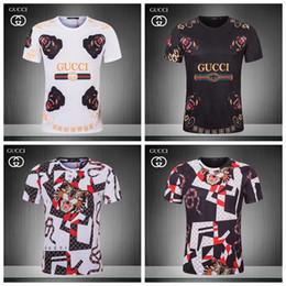 Camisas italianas de qualidade on-line-19ss summer street wear moda italiano 3 d homens de impressão de alta qualidade com suave algodão de seda camiseta casuais mulheres tee t-shirt m-3xl js18