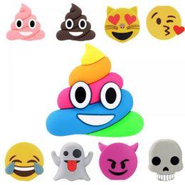banco de poder emoji Rebajas Lindo Emoji 5000mAh Banco de energía Cargador de batería externo portátil paquete de carga divertido Cartoon Mini Kids regalo Powerbank para teléfonos