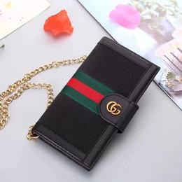 Marque de luxe portefeuille cas de téléphone pour iPhone X XR Xs max 6 6 plus 7 7 plus 8 8 plus designer en cuir sac à bandoulière titulaire de la carte cas de téléphone ? partir de fabricateur