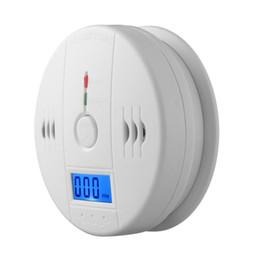 Seguridad para el Hogar CO del sensor del gas de monóxido de carbono Envenenamiento de alarma de advertencia de alta Detector85dB LCD fotoeléctrico sensible Independiente desde fabricantes