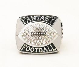 Campeonato de futebol on-line-Quem pode bater nossos anéis, alta qualidade 2019 Fantasy Football Championship Ring