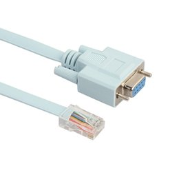 Cat6 cabo on-line-RJ45 Cat5e CAT6 para RS232 DB9 Console Router Cable