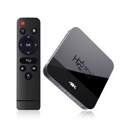 Chegada Nova H96 Mini H8 Android 9.0 TV Box Com o apoio RK3228A 8GB / 16GB 2.4G + 5G Wifi exibição Bluetooth Digital de Fornecedores de android mini pc oem