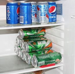 frigoríficos de cerveja Desconto Latas de Cerveja Tanque Organizador de Frigorífico Almofadas de Silicone Telha Almofadas Dobrável Garrafa De Vinho Rack Space Saver Ferramenta de Empilhamento Ferramentas Da Cozinha