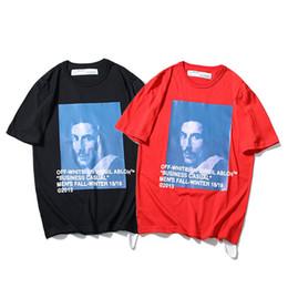 teste padrão novo camisetas Desconto Verão de 1988 Novo Padrão Baer Benigni Religião BERNINI Retrato Impressão Homens E Mulheres de Manga Curta T T-shirt