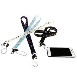 45 cm colhedor para chaves cordão dos desenhos animados para o iphone 7 samsung telefones mp3 usb flash drives chaves chaveiros id nome tag crachá titulares de Fornecedores de nome do flash