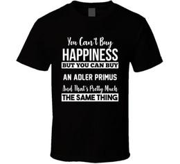 compre camisas pretas Desconto Você Não Pode Comprar Felicidade Adler Primus Entusiasta Amante Do Carro T ShirtALICE NAS CADEIAS