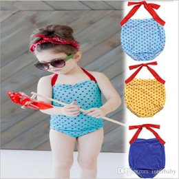 cc8909cd3 polka dot baby bodysuit Promo Codes - Kids Swimwear Girls One-Pieces Bikini Polka  Dot