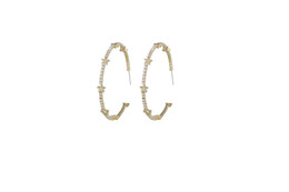 Vintage de placa de bronze on-line-New Brass Star Moda Strass Studs Brincos de Argola Banhado A Ouro de Prata Brincos de Jóias Por Atacado Seção Clássica Do Presente de Aniversário Do Vintage