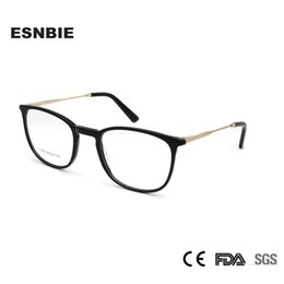 be583e1db7 ESNBIE TR90 Memory Oval Vinage Frame Eyeglasses Male Ultra Lightweight Designer  Eyewear Women Frames Oculos Redondo