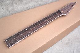 Canada livraison gratuite nouveau manche de guitare électrique, touche en palissandre, 24 frettes, 7 cordes, offrant des services personnalisés Offre