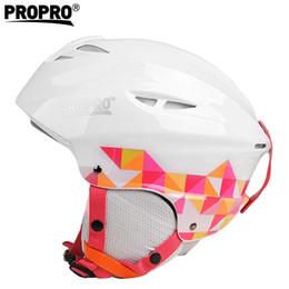 2019 cascos ops core Casco de esquí semicubierto de marca Gafas de deporte al aire libre moldeadas integralmente Casco de esquí Monopatín / Snowboard Protección para la cabeza