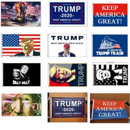 Bandera Trump 2020 Donald Bandera Trump Amercia Banderas Personalidad Bandera Decortiva Bandera Tanque Suministros para fiestas festivos HH9-2160 desde fabricantes