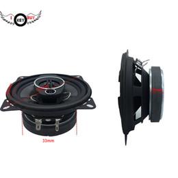 Polegada ohm alto-falantes on-line-Frete grátis 2 Pcs 4 Inch 200 W 4 Ohm 3 maneiras Coaxial falante estéreo Veículo Áudio Auto Áudio Música carro Hifi Louder Speaker