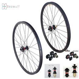 """ruota ffwd 38mm Sconti Ruote asimmetriche super leggere in carbonio 29er ruote mountain bike mtb cerchio in carbonio 29 pollici set di ruote 29 """"leggero 30mm xc30"""