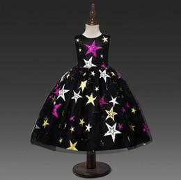 Princesse Fille Infant robe pour vêtements de fille pour bébé Robe de bébé broderie noire Robe de fille pour la fête d'anniversaire enfant en bas âge Costume ? partir de fabricateur