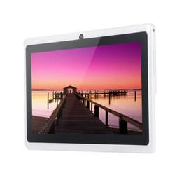 Tarjeta 512m online-Nuevas tabletas de llamadas telefónicas de 7 pulgadas y 4g Android 4.4 Octa Core 512m + 4g Tablet Pc 8g 4g Lte Dual Sim Card Laptop Wifi Gps Bluetooth Tab